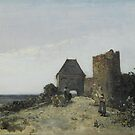 Johan_Barthold_Jongkind_-_Ruins_of_the_Rosemont_castle_-_Google_Art_Project by Adam Asar