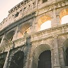 Roman Coliseum, Rome by Elana Bailey