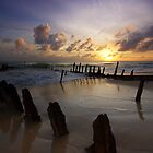 Dicky Beach, Queensland by groophics