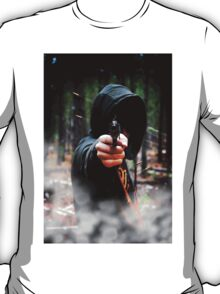 Hood in the Forest  T-Shirt