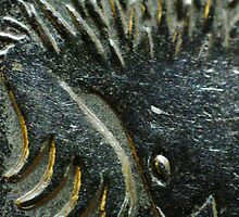 Mystery III - The spiky native animal thingy on a 5c coin by Biggzie