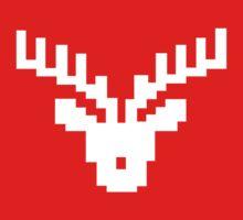 Reindeer Pixel-Art by Kyalayk