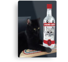ITS MY PARTY AND I'LL CRY IF I WANT TOO.CRY IF I WANT TOO..U WOULD CRY TOO IF IT HAPPENED TO U....CUTE FELINE BOTTLE AND TOY PICTURE AND OR CARD ECT.. Metal Print