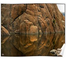 Reflections of Dells Monolith Poster