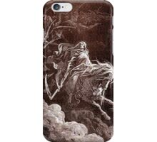 Death on the Pale Horse, Gustave Doré, (1865), Revelations iPhone Case/Skin