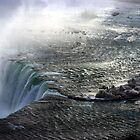 Over the falls in an ice storm by oneline