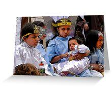 Cuenca Kids 589 Greeting Card