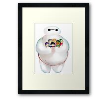 Plushie Framed Print
