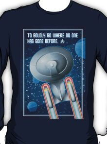 Star Trek - To Boldly Go T-Shirt