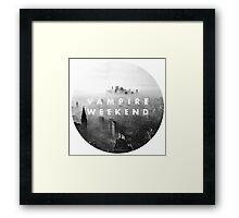 VAMPIRE WEEKEND  Framed Print