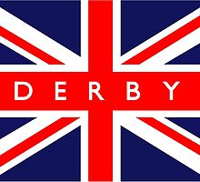 Derby UK Flag by ukedward