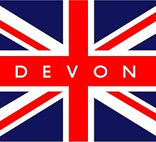 Devon UK Flag by ukedward