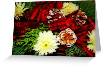 Christmas Close-up by Sandy Keeton