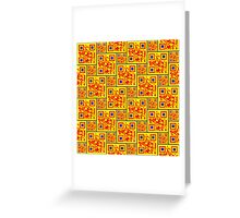 Afro-QR Greeting Card