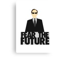 The Matrix - Agent Smith - Fear The Future Canvas Print