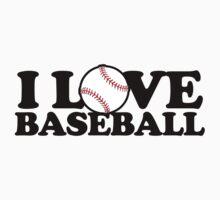 I love baseball by Boogiemonst