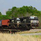Train On The Tracks by WildestArt