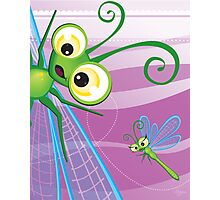 Critterz - Dragonfly 2 Photographic Print