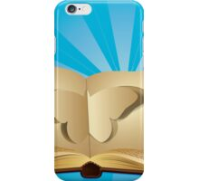 Butterfly cut out of book 2 iPhone Case/Skin