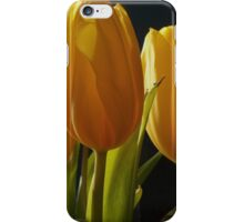 Yellow Tulips in the Winter iPhone Case/Skin