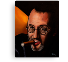 French actor Jean Reno Canvas Print