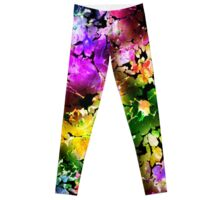 Dark Blooms Leggings