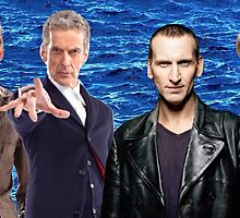 Doctor Who - The 4 Modern Doctors by SherlockAllonsy