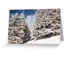 White room Greeting Card
