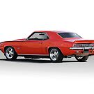1969 Chevrolet Camaro SS396 'Rear View' by DaveKoontz