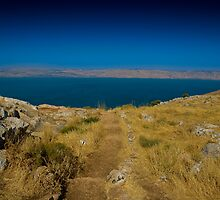 Israel, Sea of Galilee by Lucas Packett
