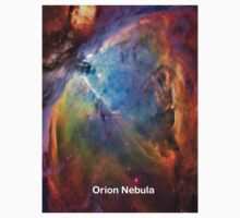 Orion Nebula Space Galaxy  Kids Clothes