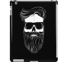 Ray's black bearded skull  iPad Case/Skin
