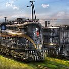 2-c-c-2 - Pennsylvania Railroad electric locomotive  #4919  by Mike  Savad