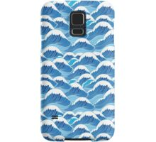 sea wave pattern Samsung Galaxy Case/Skin
