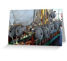 All is shipshape Greeting Card