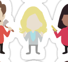 The Parks and Rec Crew - Big Sticker