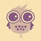 Owl Glasses by Lina Forrester