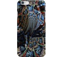 Abstract Pony on the Carousel  iPhone Case/Skin