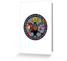 The Sages of Earth Greeting Card