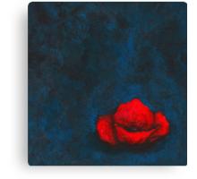 Poppy of Nothingness  Canvas Print