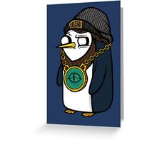 Gangsta Gunter Greeting Card
