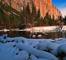 EL CAPITAN, WINTER by Chuck Wickham