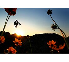 Flower & Power Photographic Print