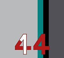 Hamilton 44 - Championship edition by HNRYdesign