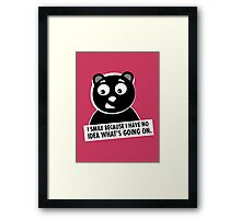 Naughty Bear Framed Print