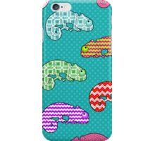 Rainbow Chameleon Pattern iPhone Case/Skin