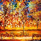 View From The Park — Buy Now Link - www.etsy.com/listing/224047662 by Leonid  Afremov