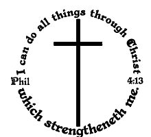 Phil 4-13  All things through Christ by tshirtchristian