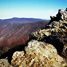 Blue Ridge - Hawksbill Summit by Bine