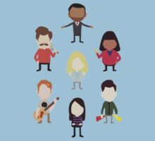 The Parks and Rec Family by jehnner